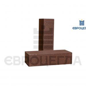 Облицовочный кирпич гладкий 250x105x65мм коричневый