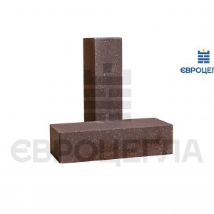 Облицовочный кирпич гладкий 250x105x65мм шоколад