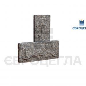 Цокольная плитка скала 250x105x20мм графит