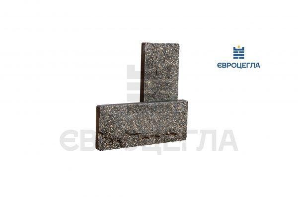 Цокольная плитка скала 250x105x20мм черная