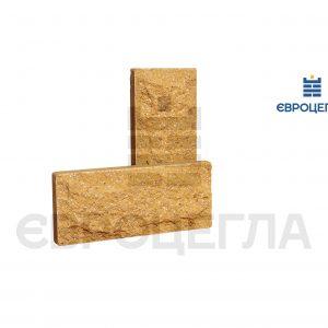 Цокольная плитка скала 250x105x20мм слоновая кость