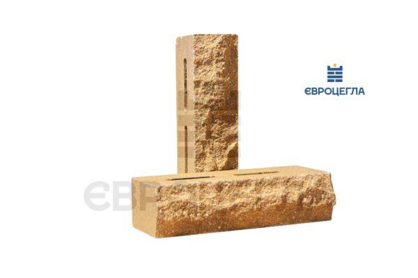 Облицовочный кирпич пустотелый скала 250x100x65мм слоновая кость