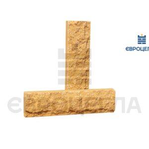 Облицовочная плитка скала стандарт 250x65x20мм слоновая кость
