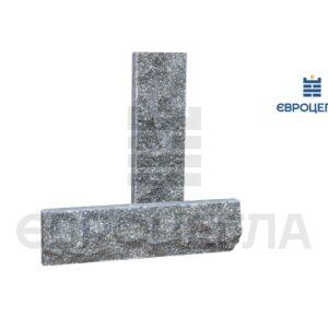 Облицовочная плитка скала стандарт 250x65x20мм графит