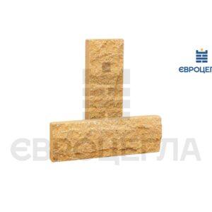 Облицовочная плитка скала короткая 200x65x20мм слоновая кость
