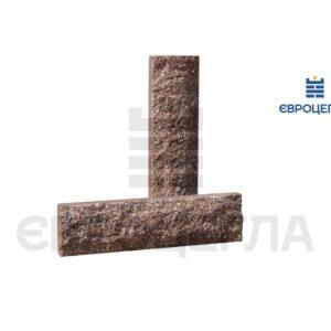 Облицовочная плитка скала стандарт 250x65x20мм коричневая