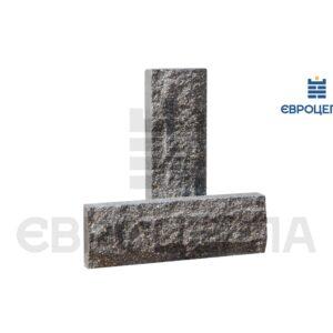 Облицовочная плитка скала короткая 200x65x20мм графит