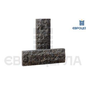 Облицовочная плитка скала короткая 200x65x20мм черная