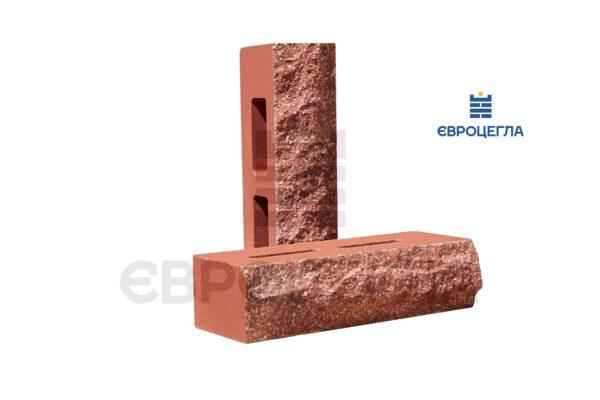 Кирпич для забора пустотелый скала 250x100x65мм красный