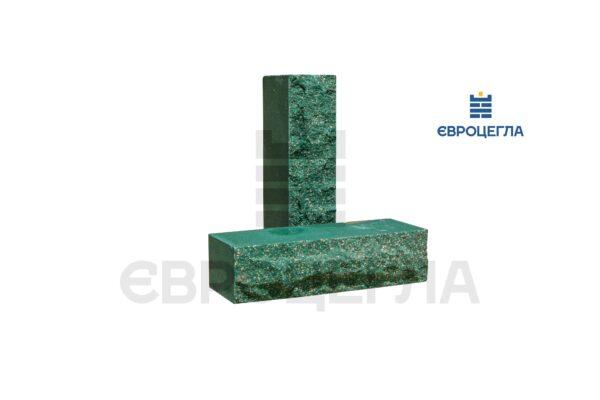 Облицовочный кирпич пустотелый скала 250x100x65мм зеленый