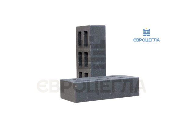 Облицовочный кирпич пустотелый гладкий 250x120x65мм графит