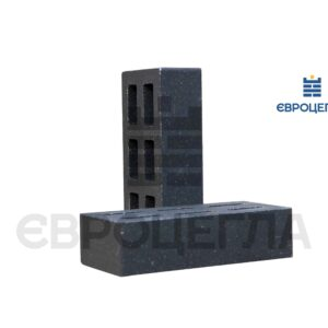 Облицовочный кирпич пустотелый гладкий 250x120x65мм черный