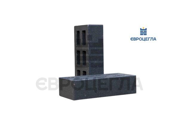 Кирпич для забора пустотелый гладкий 250x120x65мм черный