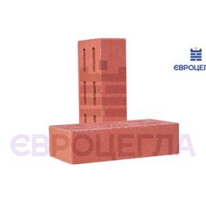Облицовочный кирпич пустотелый гладкий 250x120x65мм красный
