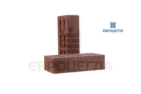 Облицовочный кирпич пустотелый гладкий 250x120x65мм коричневый