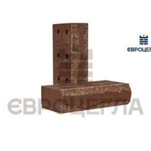 Кирпич для забора луч пустотелый 250x120x65мм шоколад