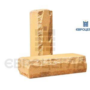 Облицовочный кирпич луч тычковой 250x105x65мм слоновая кость