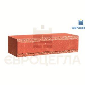 Облицовочный кирпич крымский 250x105x65мм морковный