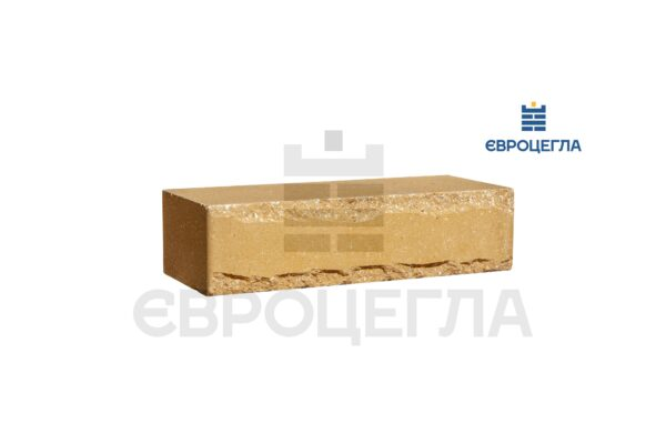 Облицовочный кирпич крымский 250x105x65мм желтый