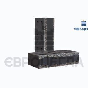 Облицовочный кирпич пустотелый крымский 250x120x65мм черный